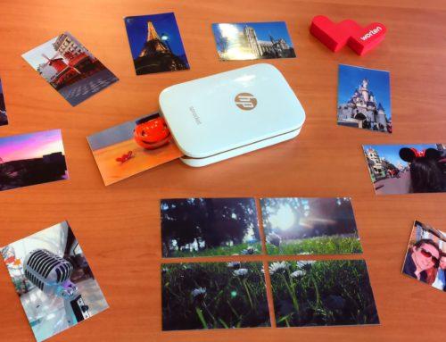 Probamos la Impresora fotográfica portátil HP Sprocket