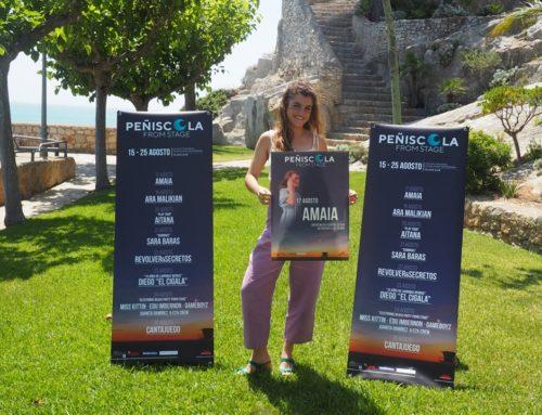 Peñíscola presenta «Peñíscola From Stage» con la cantante, Amaia