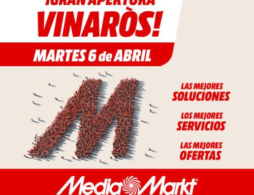 Martes 6 de abril GRAN APERTURA MediaMarkt