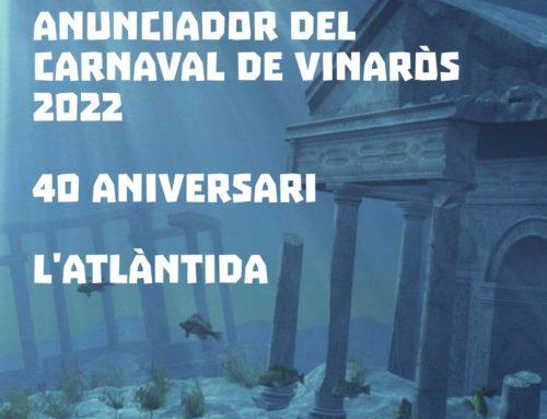"""Bases para el concurso del cartel anunciador del """"Carnaval de Vinaròs 2022"""""""