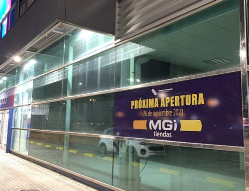 Próxima apertura de MGI tiendas